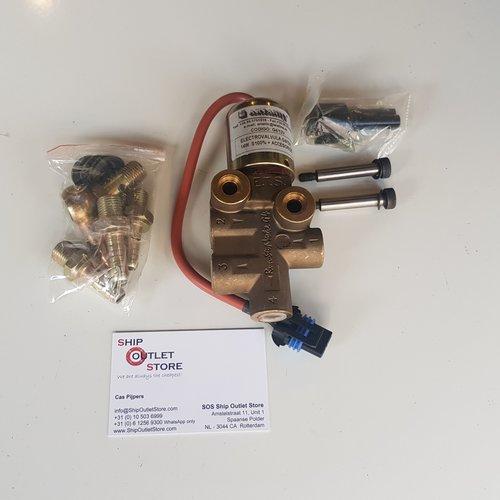 CEI Run-Stop Electric 4-way fuel valve ETR G4