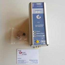 TEC Cargador de batería para montaje en carril DIN 230V - 12V - 3A