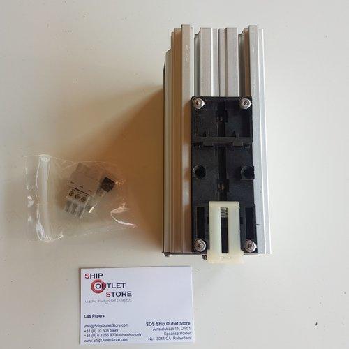 TEC Acculader voor DIN rail montage 230V - 12V - 3A