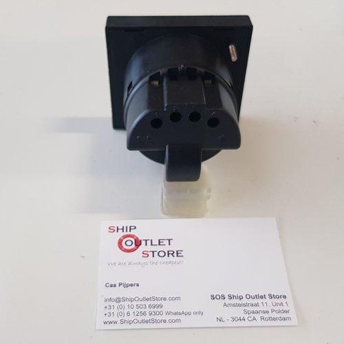 Eleberg Digitale paneelmeter Volt - Ampere - Hertz  Eleberg E-5605