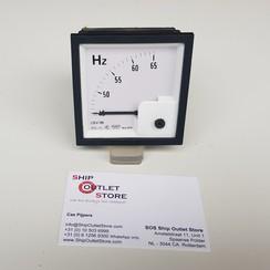 Paneel frequentiemeter 45- 65 Hz 220 - 380V