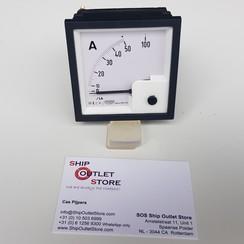 Paneel ampere meter 72 x 72 mm