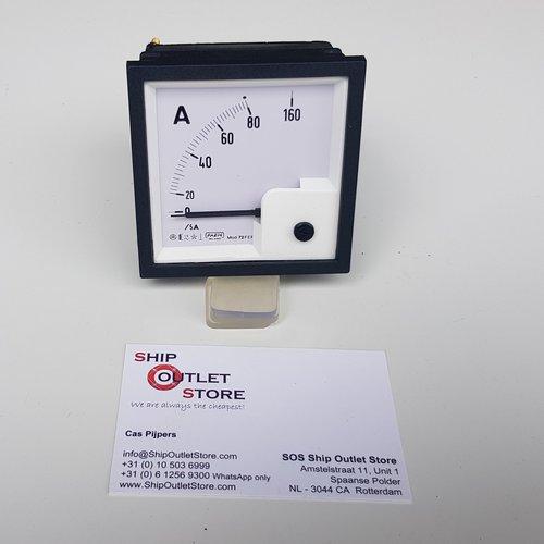 MOD Paneel ampere meter 72 x 72 mm