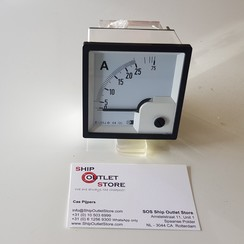 Panel ampere meter 0 - 25 Ampere Direct connection