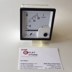 Panel Amperemesser mit Sule 72 x 72 mm