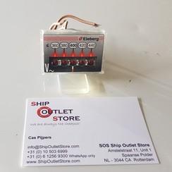 Voltímetro de panel digital 360 - 400V Eleberg E-2830