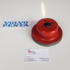 Pulley single V-belt Volvo Penta