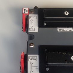 Motorbesturing actuator KE-4A NM0165-00 Morse Teleflex NHK-MEC