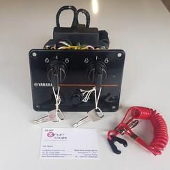 Startpaneel voor 2 motoren Yamaha 6K1-82570