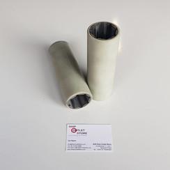 Nitrillagerbuchse wassergeschmiert mit Polyester-Außenmantel 40 x 55 mm