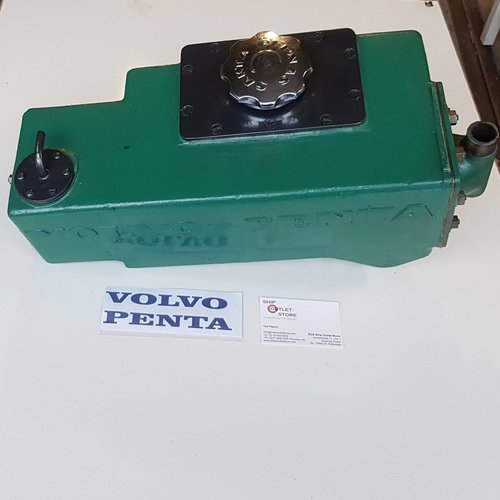 Volvo Penta Heat exchanger with thermostat MD 32 Volvo Penta 1-817758