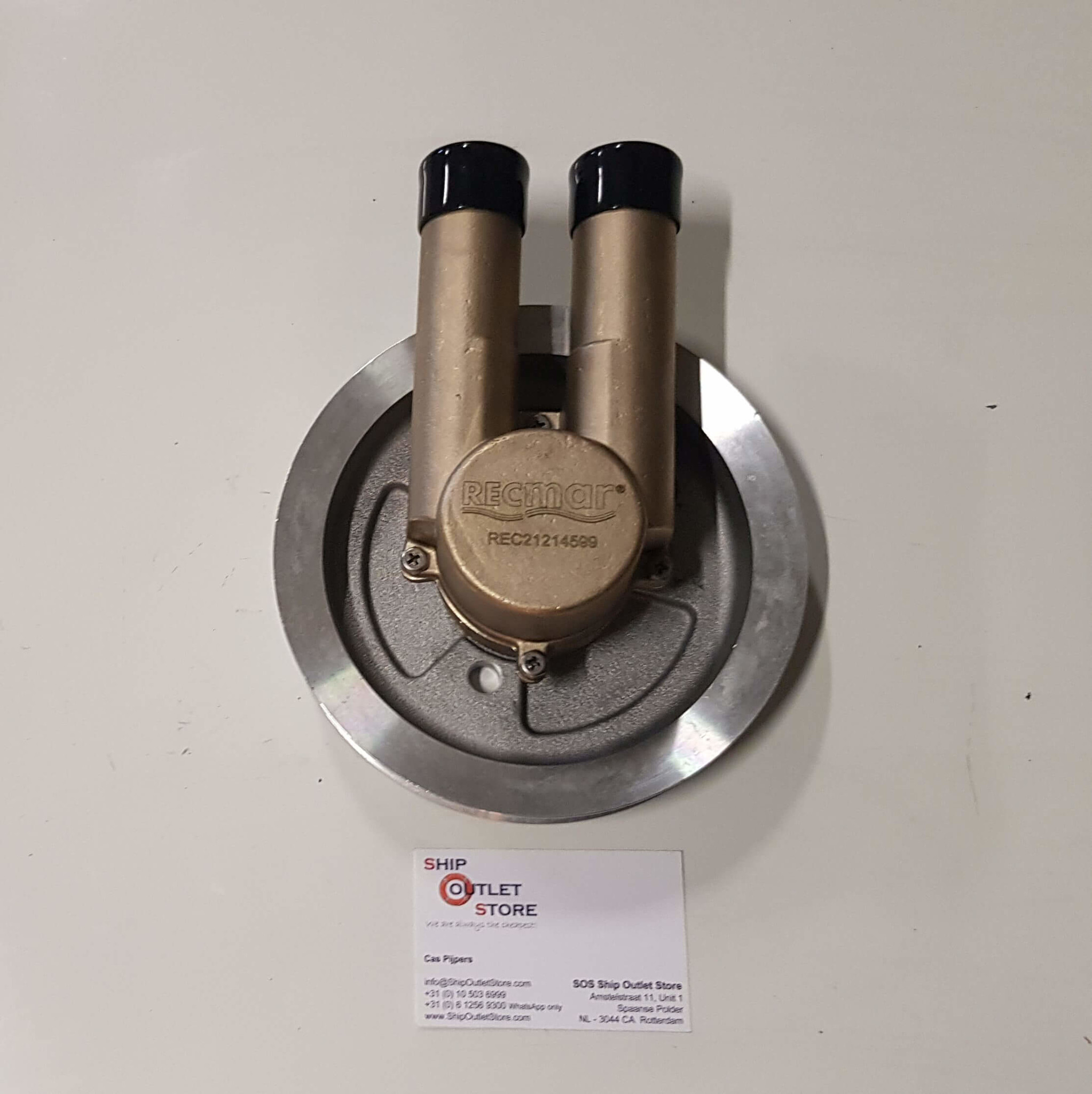 Raw Sea Water Pump 4.3 5.0 5.7 Serpentine Belt Volvo Penta  WITHOUT HOUSING
