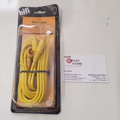 RCA Hifi cable 2.5 meter Dietz 23493