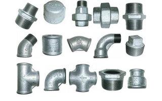 Malleable & staal fittingen