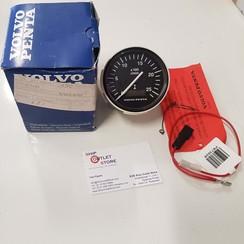 Tachometer 2500 rpm 12-24V Volvo Penta 874496