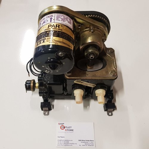 Jabsco Wasserpumpe mit Druckschalter 24V Jabsco 36950-0210