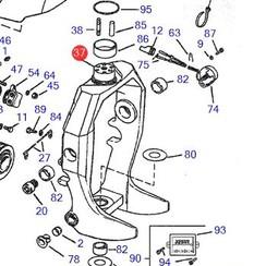 Suspension fork Volvo Penta 3854863