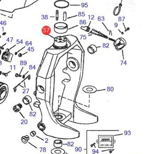Volvo Penta Suspension fork Volvo Penta 3854863