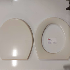 Sealand Dometic, toilet seat and lid in BONE Type 433831