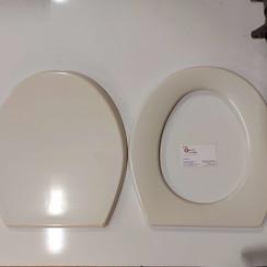 Sealand Dometic, toilet zitting in beige Bone Type 433831