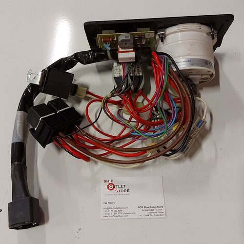 Nanni Diesel Instrument panel A3 Nanni Diesel