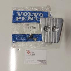 Anode kit zink Volvo Penta 3888817
