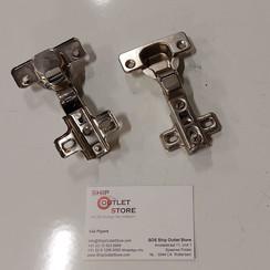 Blum Three-Way Adjustable Clip-on Steel Hinge