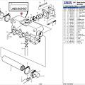 Volvo Penta Heat exchanger MD2040 Volvo Penta 3581927 - 3581932