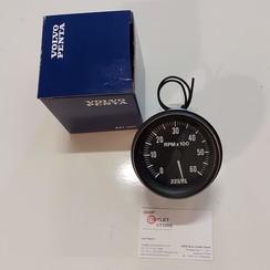 Tachometer 6000 rpm Volvo Penta 872875