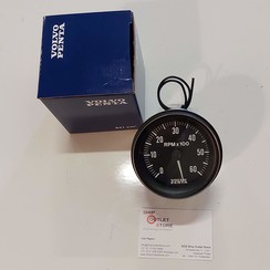 Toerenteller 6000 rpm Volvo Penta 872875