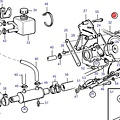 Volvo Penta Servo power steering kit Volvo Penta 3582640