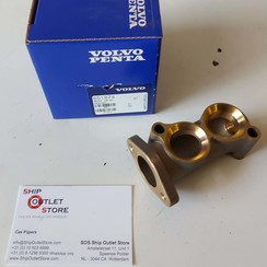 Cooling water pipe connection Volvo Penta 851874