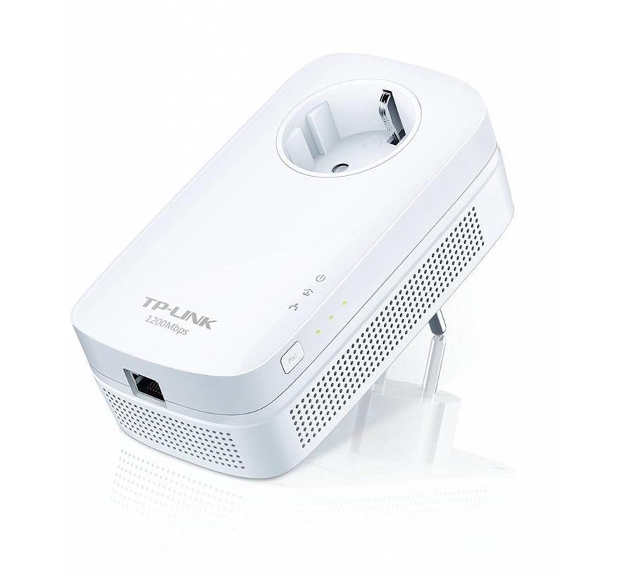 TP-Link tl-pa8010p av1200 Gigabit Powerline adaptador ideal para HDTV