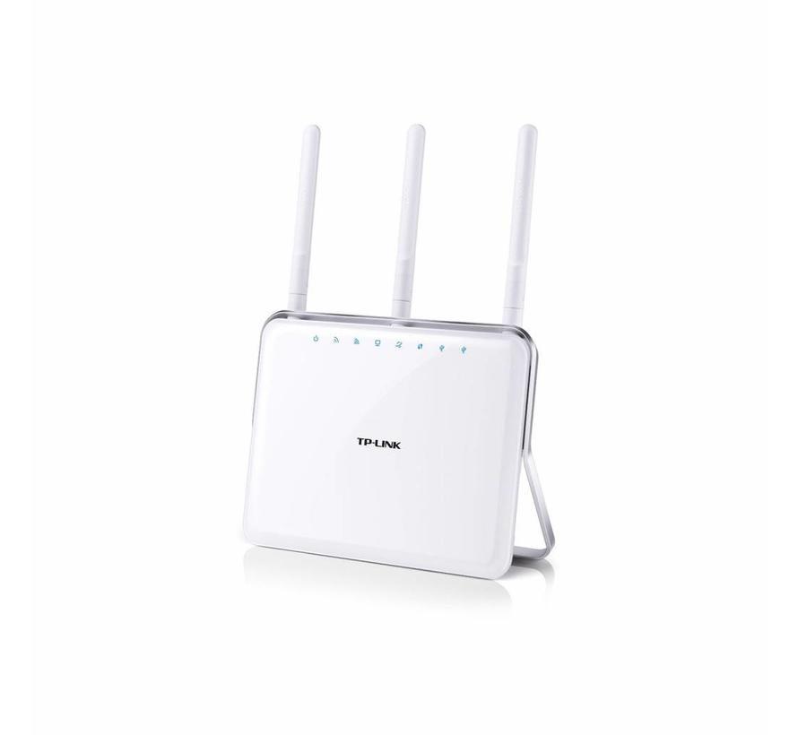 TP-Link ac1900 300 Mbps 4-Port 1000 Mbps un micrófono enrutador (Archer c9)