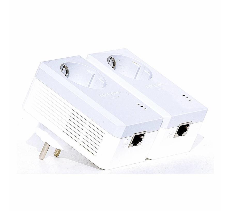 TP-LINK TL-PA4010P KIT 500Mbps Powerline Adapter Netzwerkadapter 2-Set