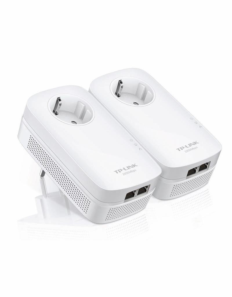 TP-Link TP-LINK TL-PA9020P KIT AV2000 Gigabit Powerline Adapter TL-PA9020PKIT 2er