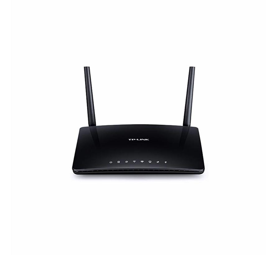 TP-Link Archer d50 dual band ac1200 Wireless router ADSL 2+ negro