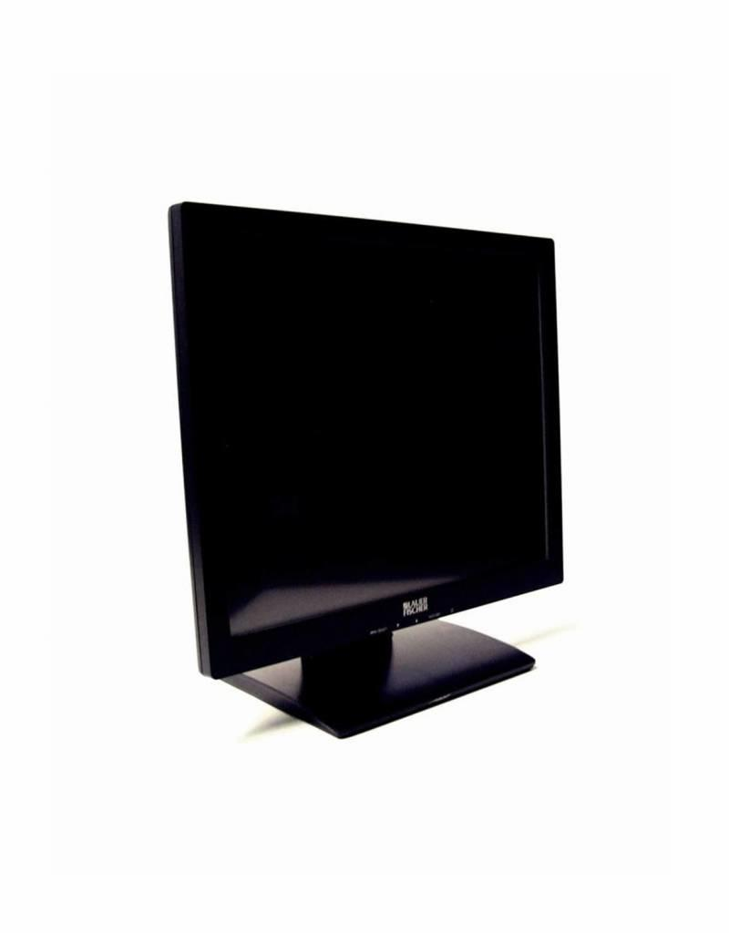 "Canvys Canvys 17"" Kassen Display Touch Monitor VT-768DT LCD TOUCHSCREEN DVI VGA POS"