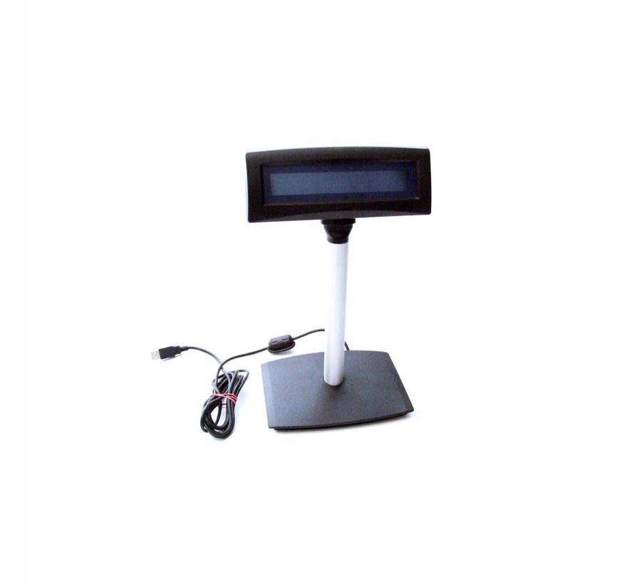 Kundendisplay Kunden Anzeige TIPRO TM-ZBU-50 -C15 USB