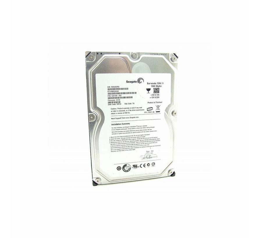 "Seagate Barracuda 7200.11 1,5TB 1500GB 3,5"" SATA HDD ST31500341AS hard disk"