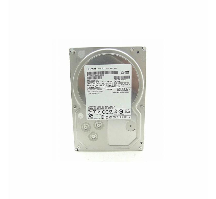 Hitachi Deskstar 2TB hard disk 7200RPM 3,5 Zoll HDS722020ALA330 32MB