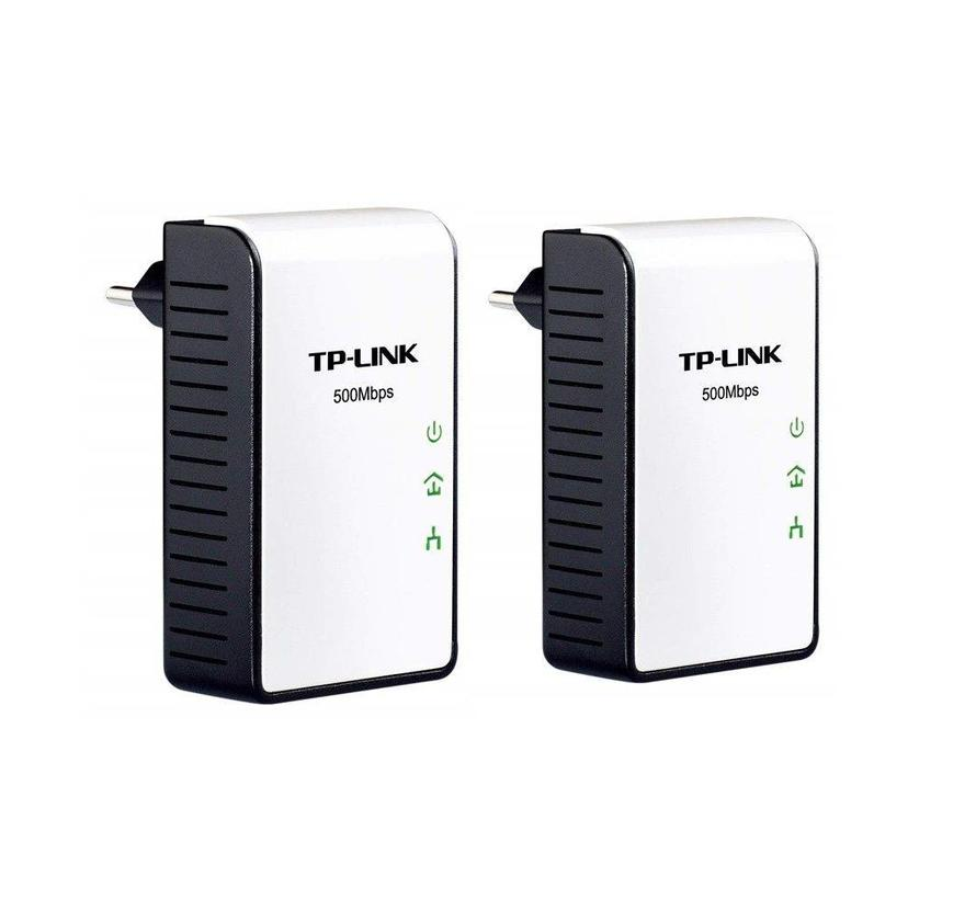 TP-LINK TL-PA411KIT 500Mbps Nano Powerline Adapter 2 x TL-PA411 AV500