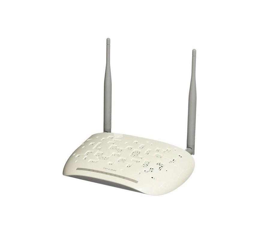 TP-Link TD-W8961ND ADSL2 Wireless Router Modem 2,4GHz 4-port 300Mbps