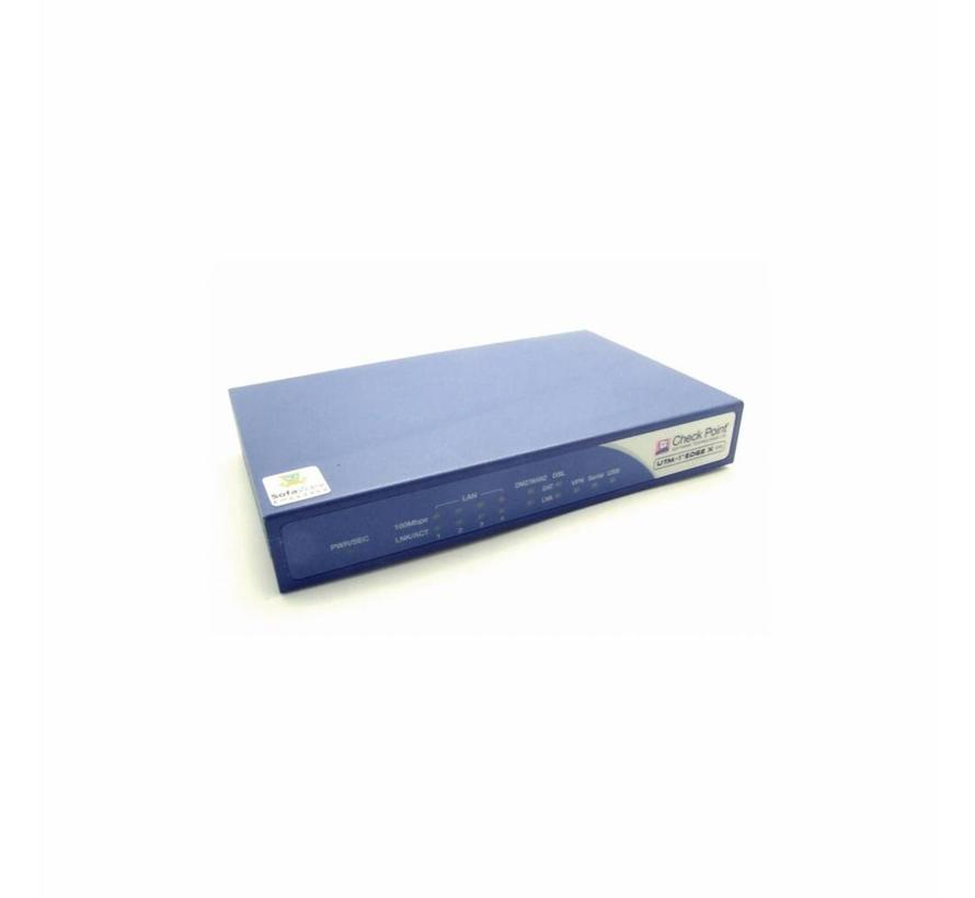 Check Point SBXD-166LHGE-5 UTM-1 Edge X ADSL Internet Security Appliance