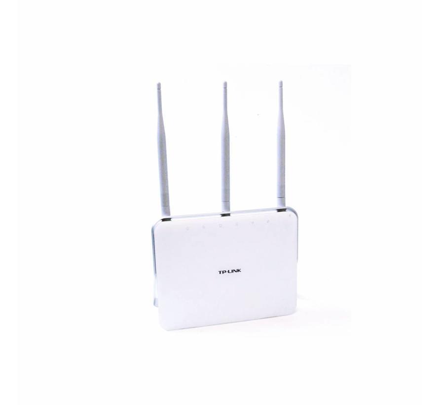 TP-Link ac750 300 Mbps 4-Port 1000 Mbps un micrófono enrutador Archer vr200v