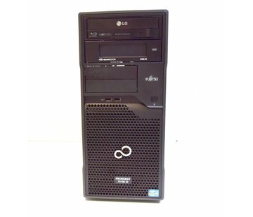 Fujitsu Fujitsu Primergy TX100 S3 S3P Server Xeon E3-1220 3,1GHz 4GB 2x 320GB HDD BD/DVD