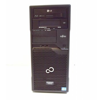 Fujitsu Fujitsu Primergy TX100 S3 S3P Server Xeon E3-1220 3.1GHz 4GB 2x 320GB HDD BD / DVD