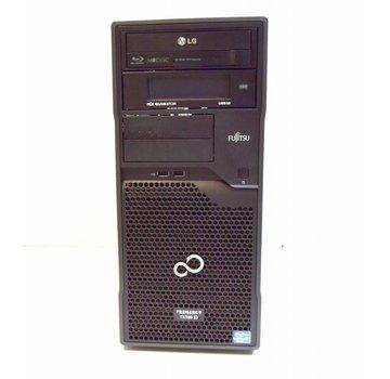 Fujitsu Fujitsu Primergy TX100 S3 S3P Servidor Xeon E3-1220 3.1GHz 4GB 2x 320GB HDD BD / DVD