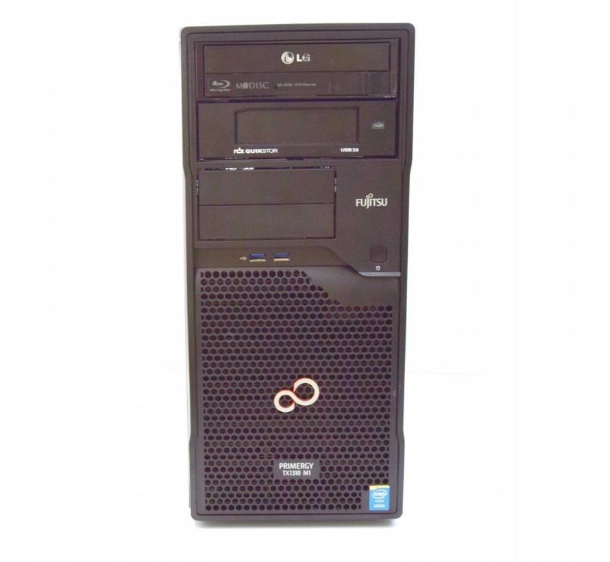 Fujitsu Primergy TX1310 M1 Server Xeon E3-1226 3,3GHz 4GB 320GB HDD DVD/BD