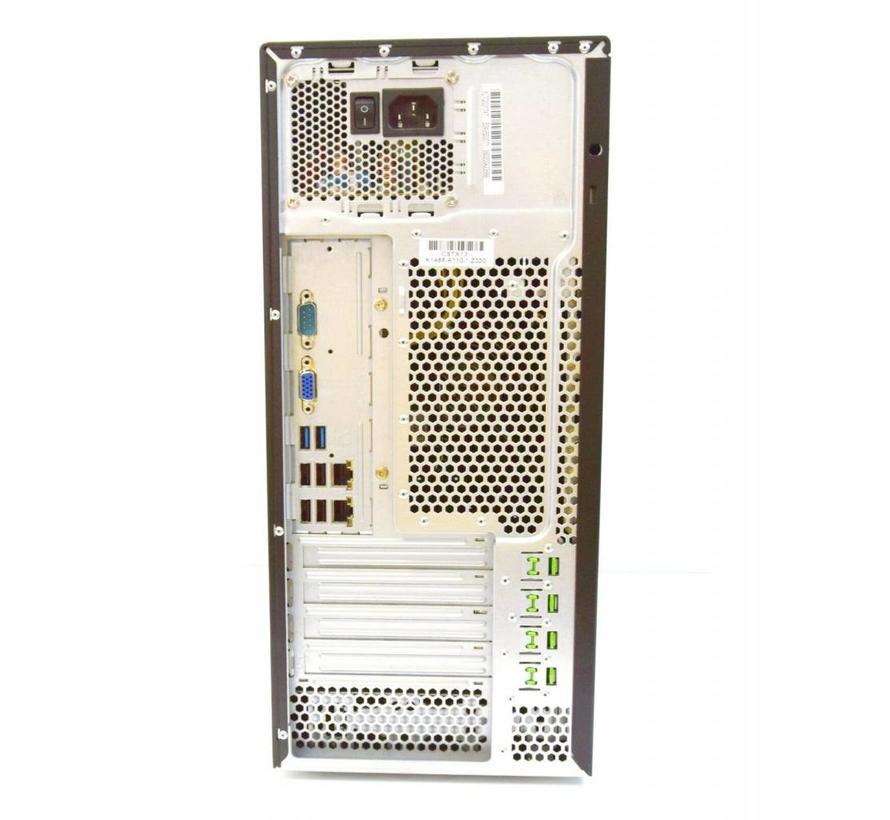 Fujitsu PRIMERGY TX1310 M1 servidor Xeon E3-1226 3, 3GHz 4GB 320GB HDD DVD/BD